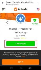 تطبيق Wossip للتجسس والمراقبة على حسابات الواتس اب