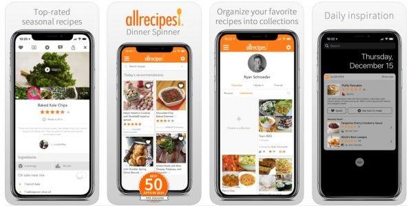 أفضل تطبيقات وصفات طعام