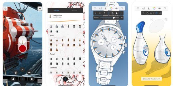 تحميل تطبيق Autodesk SketchBook