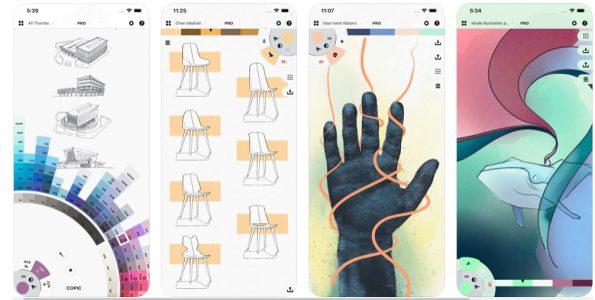تحميل تطبيق Linea Sketch