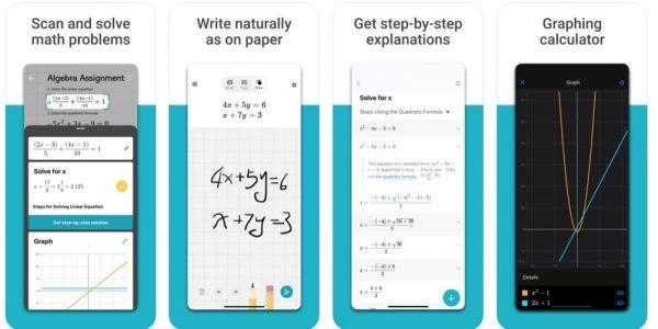 تنزيل تطبيق حل مسائل الرياضيات