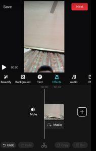 تطبيق التعديل على الفيديوهات