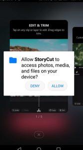 شرح كيفية استخدام تطبيق StoryCut